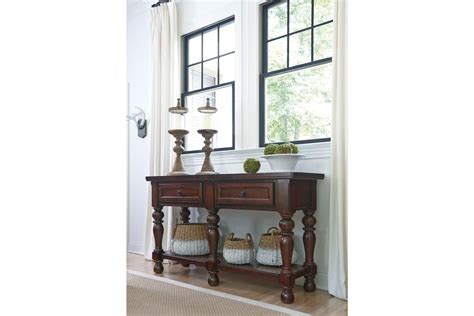 dining room server porter dining room server in rustic brown by 174