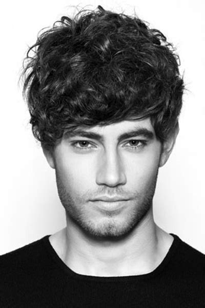 mens hairstyles casual and loose curly style 47 best men s haircut curly images on pinterest man s