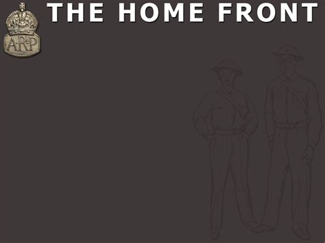 The Home Front Powerpoint Template Adobe Education Exchange World War 2 Powerpoint Template