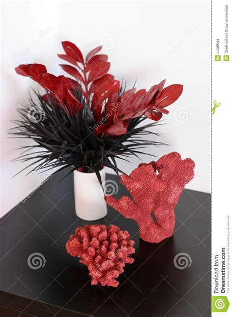 red coral home decor red coral decor stock images image 4448644