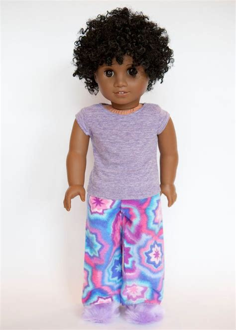 american doll slippers american doll pajamas with slippers pink purple