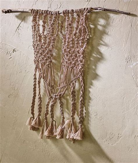heart macrame pattern macram 233 wall art free diy pattern from red heart yarns