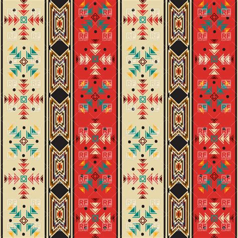 free mexican pattern background seamless background pattern with navaho style motif vector