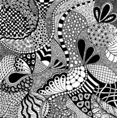 rhythmic pattern drawing zentangle para principiantes 161 hoy no hay cole