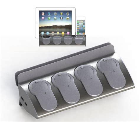 otio bloc cuisine 4 prises 2 usb support tablette