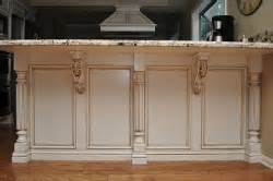 kitchen island post how to install corbels and brackets osborne wood
