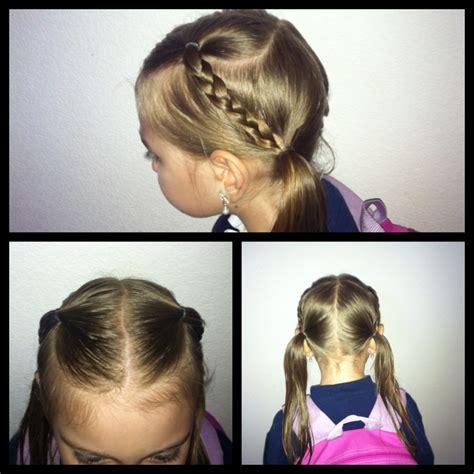 easy hairstyles little girl easy little girl hairstyle kids girls hairstyle pinterest