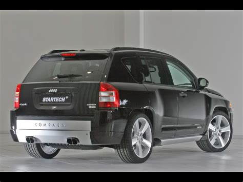 Jeep Compass Back 2007 Startech Jeep Compass Rear And Side 1920x1440