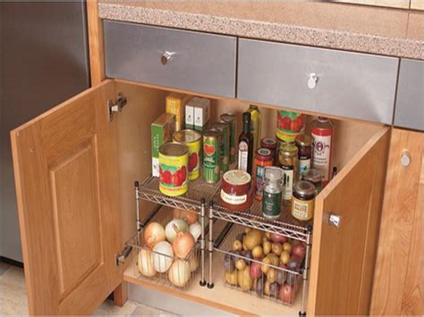 storage ideas for kitchen cabinets cheap kitchen cabinet organizing ideas
