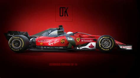 ferrari prototype f1 2018 ferrari concept with new halo design thisisf1