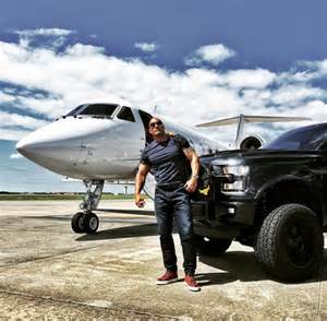 Rock Ford Dwayne Johnson Displays His Affection For The Ford F 150