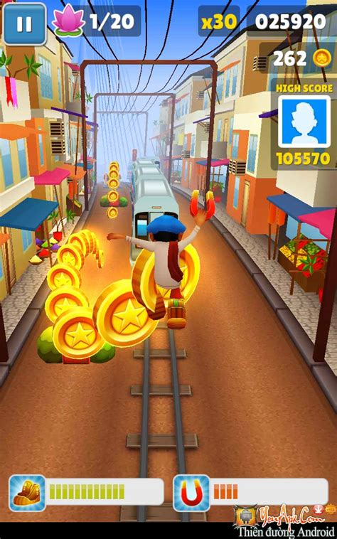 game subway mod cho android subway surfers hd mod tiền game chạy trốn bảo vệ cho android