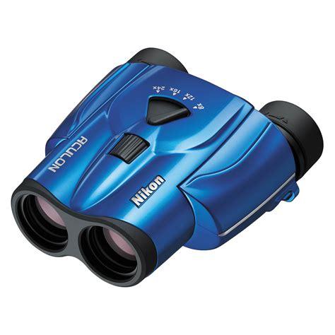 nikon 8 24x25 aculon t11 zoom binoculars blue 16009 b h photo