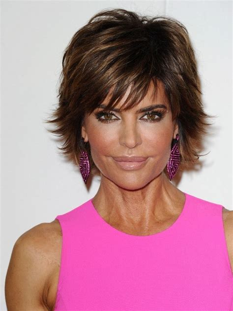 razir shag cut female more pics of lisa rinna layered razor cut lisa rinna