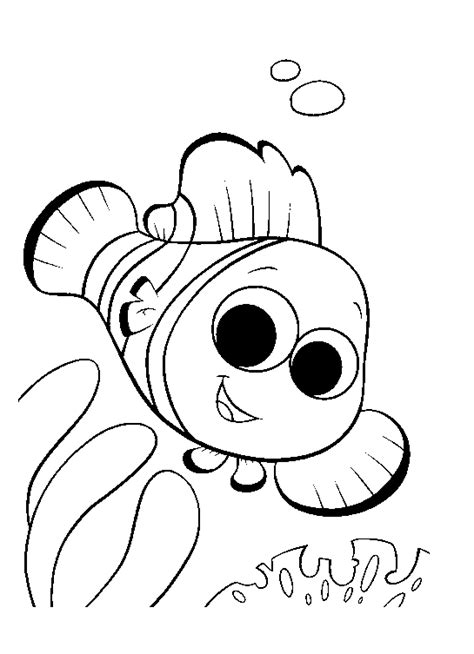 disney nemo coloring pages free free coloring pages of marlin de buscando a nemo