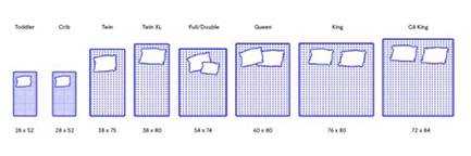 mattress sizes natashainanutshell