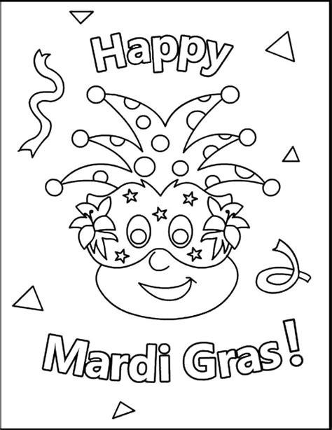 mardi gras coloring pages free printable mardi gras coloring pages