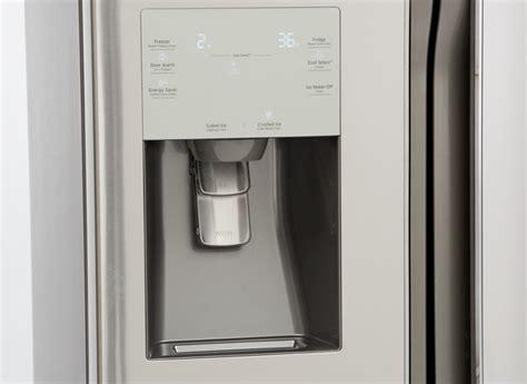 Samsung Door Refrigerator Temperature Settings by Samsung Rf23j9011sr Refrigerator Consumer Reports