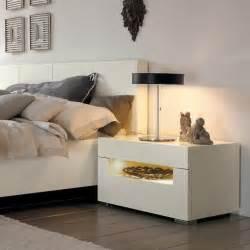 Narrow White Nightstand Table De Nuit 31 Id 233 Es Pour Chambre 224 Coucher Chic Et Sympa
