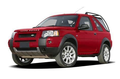 2004 land rover freelander mpg 2004 land rover freelander specs safety rating mpg