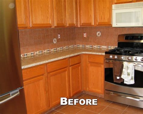 blonde cabinets kitchen refacing changed light blonde cabinets to classic cherry