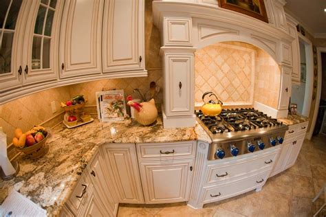 tumbled marble backsplash pictures and design ideas luxury kitchen style with brown tumbled stone tile