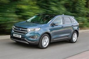 Edge Ford Ford Edge Review 2017 Autocar