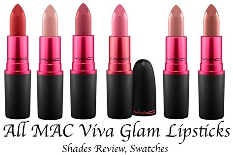 Review Eyeshadow Viva Matte all mac viva glam lipsticks shades review swatches mac