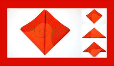 Serviettenform Schmetterling by Anleitung Schmetterling Orange