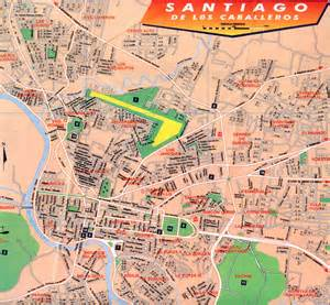 santiago city map