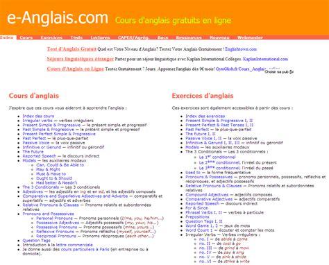cours d anglais gratuit en ligne pour apprendre 224 parler