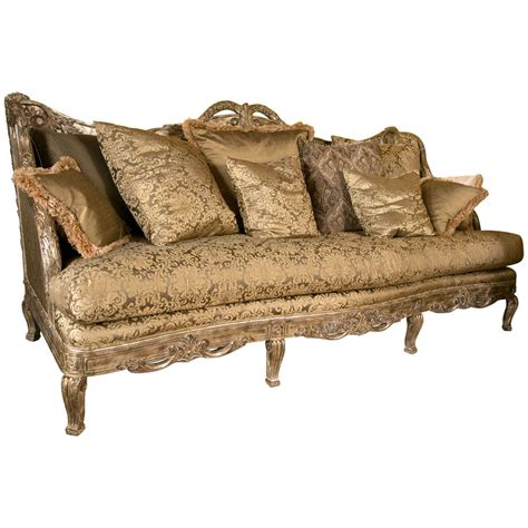louis xv sofas palatial french louis xv style sofa or daybed at 1stdibs