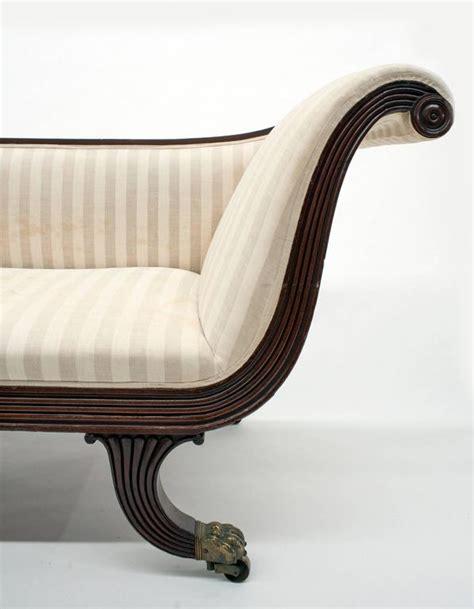 classic chaise classic federal antique chaise lounge recamier circa 1820