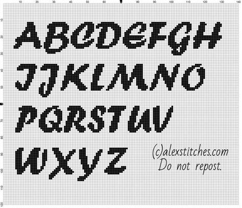 pattern typeface download 17 best images about free cross stitch patterns alphabet