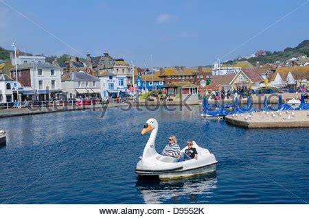 swan pedal boats hastings swan pedalo stock photo royalty free image 74619695 alamy