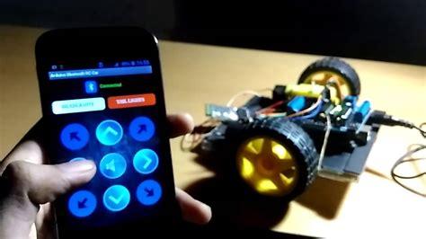 arduino tutorial rc car diy arduino bluetooth rc car youtube