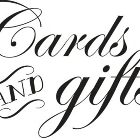 Gift Card Signs - cards and gifts 8x10 wedding sign aftcra