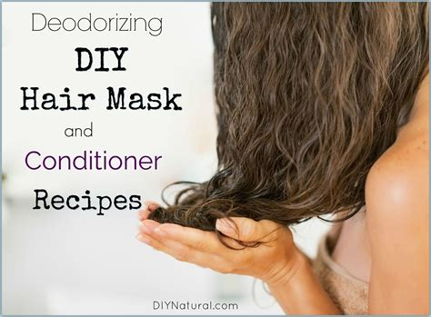 Weekly Or Biweekly Conditioning Hair Mask by Diy Hair Mask Mask And Conditioner Recipe To Deodorize