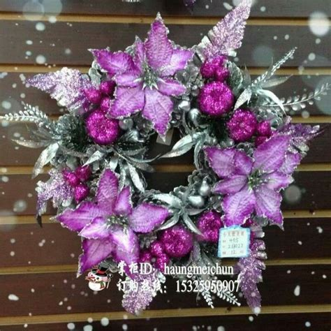 Poinsettia purple poinsettias christmas pinterest
