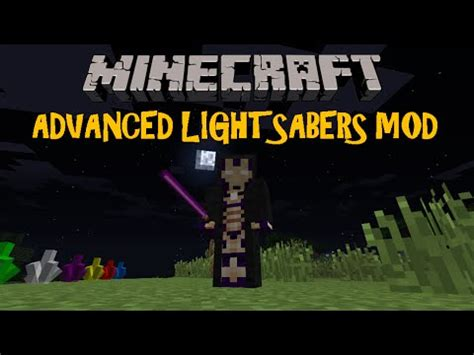 advanced lightsabers mod minecraft 1 7 10 review en espa 241 ol 2016