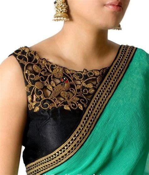 boat neck photos designer boat neck blouse designs for sarees