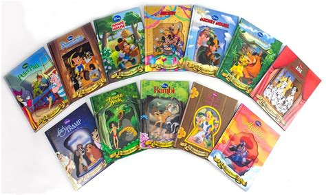 disney s classics books disney classic 12 book set with lenticular covers groupon