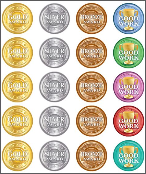 wordpress themes gold silver bronze sticker 100 pack gold silver and bronze ric
