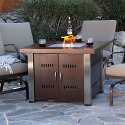 Patio Fireplace Table Pit Table Fireplace Outdoor Furniture Patio Lp Gas Backyard Heater Propane Ebay