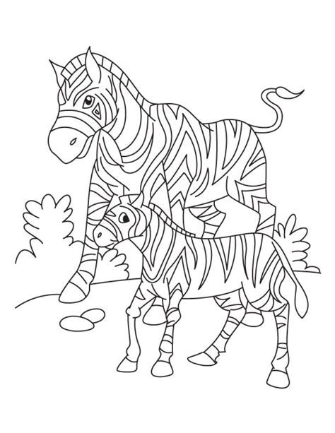 aardvark to zebra animals of africa coloring book books printable zebra coloring pages coloring me