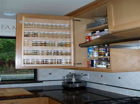 Spice Cabinet Ideas by Bloombety Cabinet Pull Out Spice Rack Design Ideas
