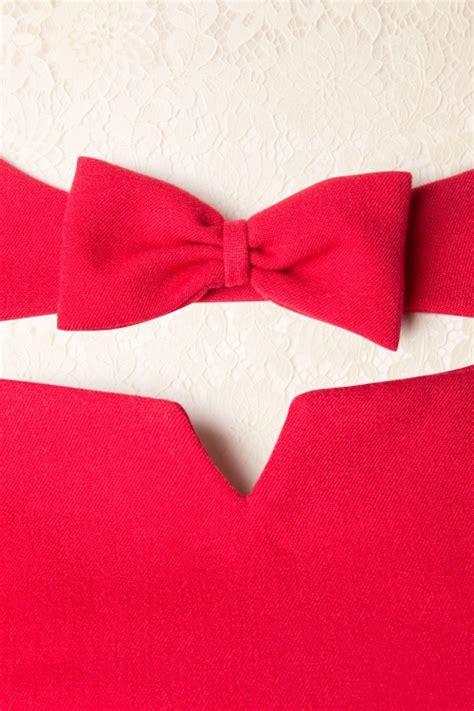 swing bow 50s sylvana bow swing dress in