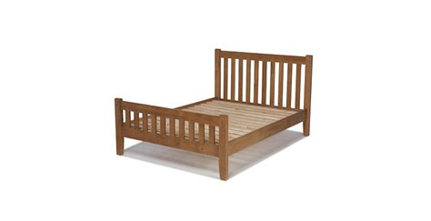 oak king size bed rustic oak king size bed 5 lifestyle furniture uk