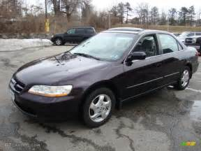 1998 Honda Accord Black Currant Pearl 1998 Honda Accord Ex Sedan Exterior