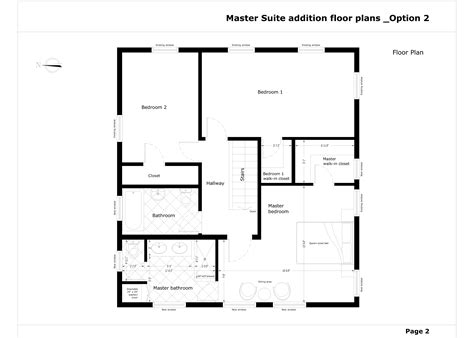 master suite addition floor plans other designed by gordana potezica master suite addition